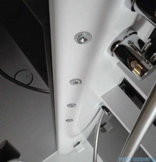 Novellini Glax 2 2.0 kabina z hydromasażem 90x90 prawa total biała G22GF99DT1-1UU