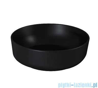 Elita Lorca umywalka nablatowa ceramiczna 41cm Black Matt 145084