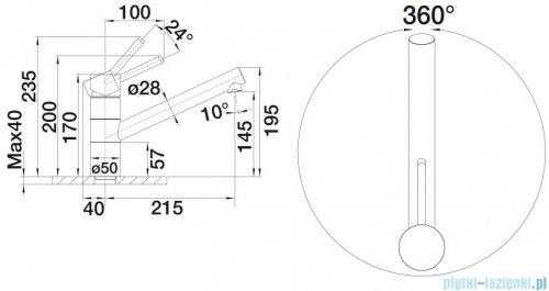 Blanco Tivo bateria wysokociśnieniowa kolor: biały/chrom 517603