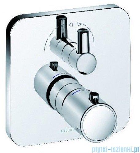 Kludi E2 podtynkowa bateria natryskowa z termostatem chrom 498300575