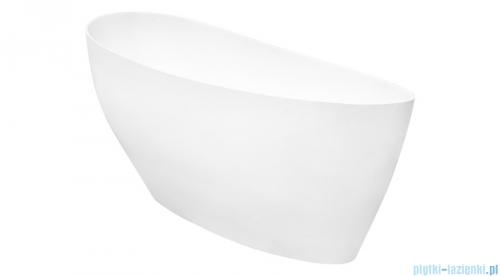 Besco Keya Glam grafit 165x70cm wanna wolnostojąca + odpływ klik-klak