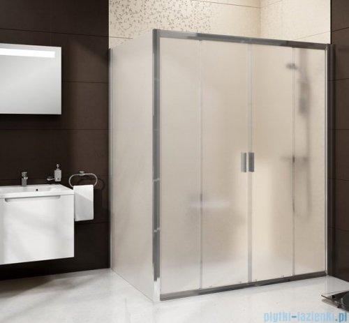 Ravak Blix BLDP4 drzwi prysznicowe 200cm aluminium grape Anticalc 0YVK0C00ZG