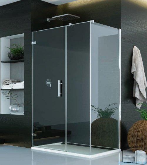 SanSwiss Pur PU31 Kabina prysznicowa 100x70cm lewa szkło przejrzyste PU31PG1001007/PUDT3P0701007