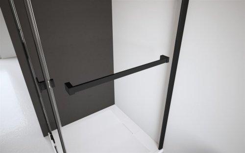 Radaway Modo New Black III kabina Walk-in 65x100x200 szkło przejrzyste 389065-54-01/389104-54-01/389000-54