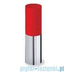 Tres Loft Colors Bateria umywalkowa z korkiem automatycznym wylewka kaskada otwarta kolor czerwony 200.110.01.RO.D