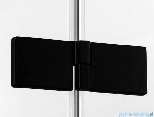 New Trendy Avexa Black kabina prostokątna 120x110x200 cm przejrzyste prawa EXK-1605