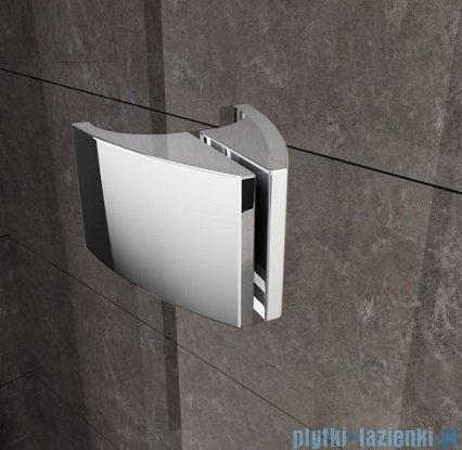 Ravak Kabina prysznicowa Pivot PSKK3 półokrągła 100x100 biała/biała 376AA101Z1