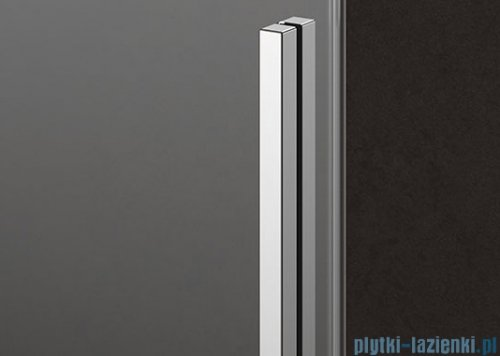 Kermi Nica drzwi przesuwne 2-częściowe z polem stałym lewe 110 cm NID2L11020VPK