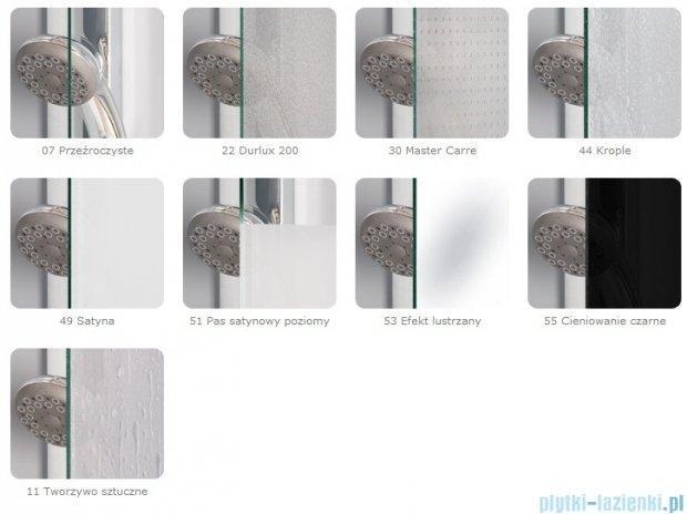SanSwiss Pur PUE2P Wejście narożne 2-częściowe 120cm profil chrom szkło przejrzyste Lewe PUE2PG1201007