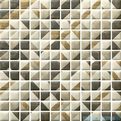 Paradyż Enya grafit mix mozaika ścienna 29,8x29,8