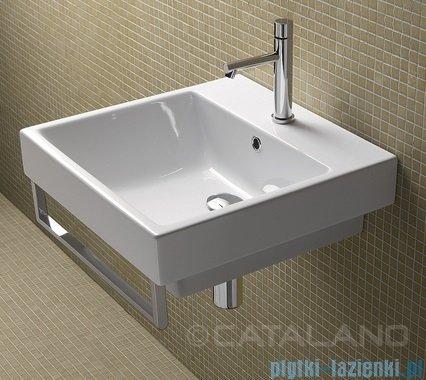Catalano Zero 50 umywalka 50x50 biała 15QZE00
