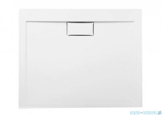 Polimat Comfort brodzik akrylowy posadzkowy 90x90 biały połysk 00045