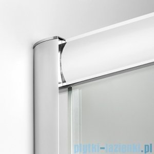 New Trendy Varia kabina prysznicowa 100x80x190 cm szkło grafitowe D-0055A/D-0044B