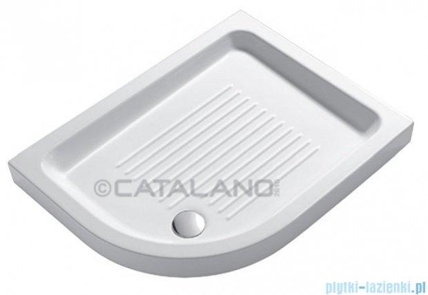 Catalano Base 90x70x12 cm brodzik ceramiczny lewy biały 17090S00