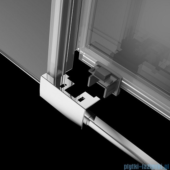 Radaway Idea Kdj kabina 140x80cm prawa szkło przejrzyste 387044-01-01R/387051-01-01L