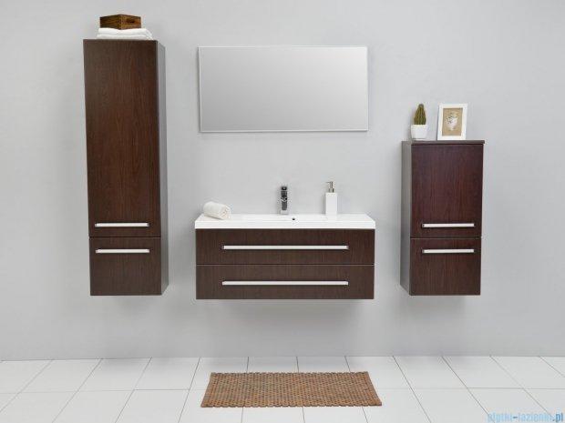 Antado Variete szafka z umywalką, wisząca z dwiema szufladami 100x39x40 wenge mat FDM-C-442/10/2GT + UMMC-1000X390