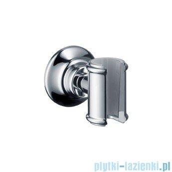 Hansgrohe Axor Montreux Uchwyt do węży prysznicowych nikiel szczotkowany 16325820
