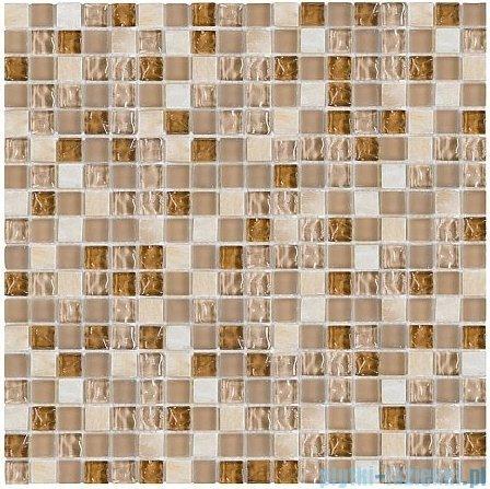 Dunin Aurora mozaika kamień/szkło 30x30 topaz 15