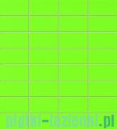 Mozaika ścienna prostokątna Tubądzin Colour Green 32,7x29,5