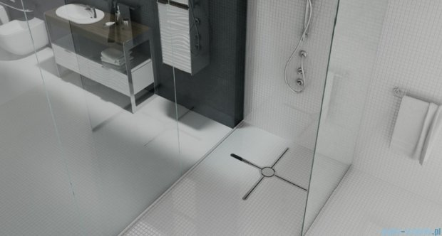 Wiper Eye-drain A4 Massimo Odpływ prysznicowy 80 cm poler Eye-drainMASSIMOA4_800Poler