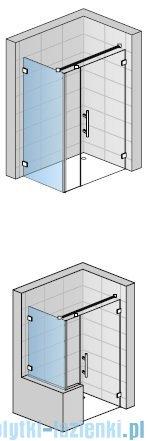 SanSwiss PUR PU31 Ścianka boczna wymiary specjalne 30-100/do 200cm Durlux 200 PURDT3SM21022