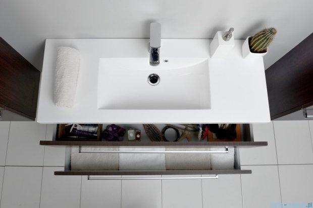 Antado Variete szafka z umywalką, wisząca z dwiema szufladami 100x39x40 wenge mat FDM-C-442/10/2 + UMMC-1000X390
