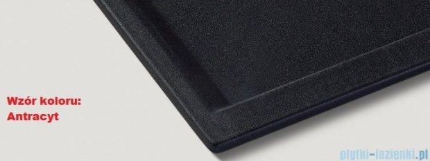 Blanco Zenar 45 S-F  Zlewozmywak Silgranit PuraDur komora lewa kolor: antracyt z kor. aut. i szklaną deską do krojenia 519190