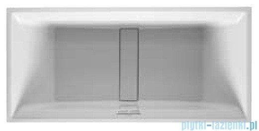 Duravit 2nd floor wanna prostokątna 180x80cm na stelażu do obudowy meblowej 700081 00 0 00 0000