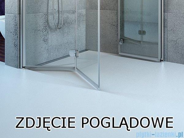 Radaway Fuenta New Kdj kabina 120x110cm lewa szkło przejrzyste 384042-01-01L/384053-01-01