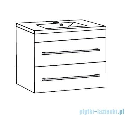 Antado Spektra ceramic szafka podumywalkowa 2 szuflady 72x43x50 fino grafit FDF-AT-442/75/2GT-46