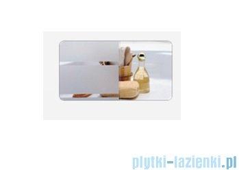 Sanplast kabina narożna kwadratowa KNs-c-90 szkło: Sitodruk W4 600-013-0030-01-410