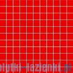 Mozaika ścienna Tubądzin Colour Red 30x30