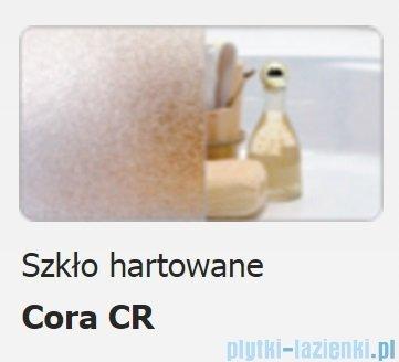 Sanplast kabina narożna półokrągła KP4/TX4-80 szkło: Cora 600-271-0051-38-370