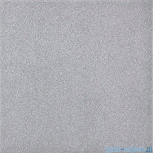 Paradyż Inwest szary matowa płytka podłogowa 19,8x19,8
