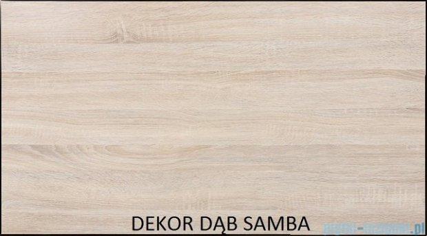 Antado Spektra ceramic szafka z umywalką 72x43x40 dąb samba FDF-AT-442/75GT-62+UCS-AT-75