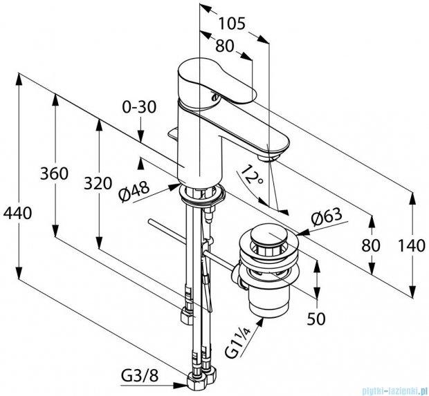 Kludi Objekta Jednouchwytowa bateria umywalkowa DN 10 chrom 322340575