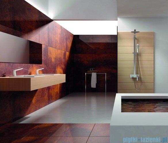 Art Platino Emira Zestaw kabinowo-prysznicowy natynkowy chrom/biały EMI-ZKPN.400BC