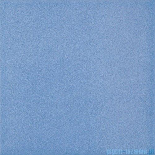 Paradyż Inwest niebieski matowa płytka podłogowa 19,8x19,8