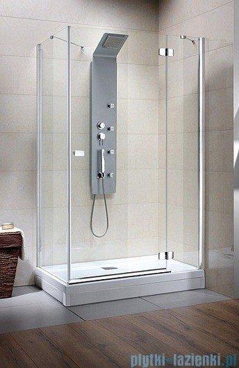 Radaway Kabina prysznicowa Fuenta KDJ 120x90 prawa szkło intimato 381045-12R