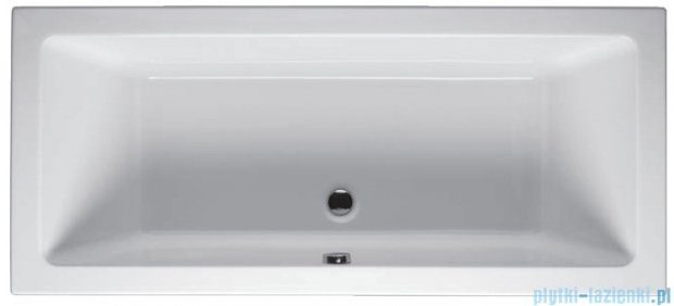 Riho Lusso Wanna prostokątna 180x90 z hydromasażem LUX Hydro 4+4+2/Aero11 BA77L8