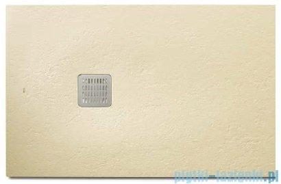 Roca Terran 140x80cm brodzik prostokątny konglomeratowy cream AP0157832001500