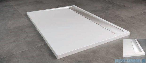 SanSwiss WIA Brodzik konglomeratowy prostokątny 90x120cm biały/połysk WIA901205004