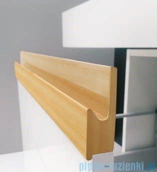 Antado Combi szafka prawa z blatem i umywalką Mia biały/jasne drewno ALT-141/45-R-WS/dn+ALT-B/1C-1000x450x150-WS+UCS-TC-60