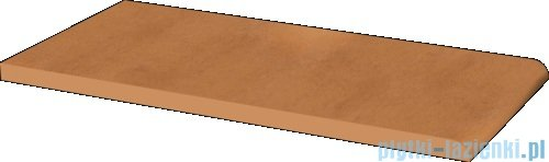 Paradyż Aquarius brown klinkier parapet 14,8x30