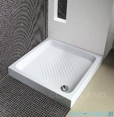 Catalano Base brodzik 90x90x10 cm ceramiczny biały 1909000