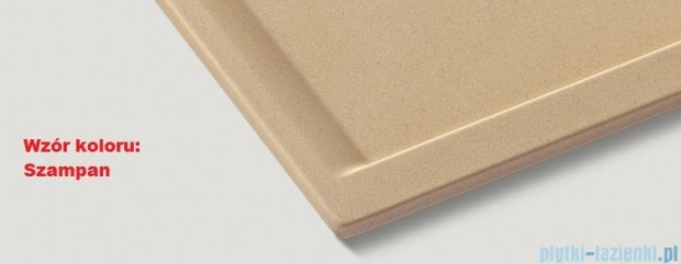 Blanco Zenar 45 S Zlewozmywak Silgranit PuraDur  lewy  kolor: szampan   z kor. aut. i akcesoriami  519267