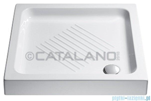Catalano Base brodzik 70x70x10 cm ceramiczny biały 1707000