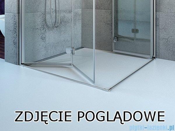 Radaway Essenza New Kdj kabina 90x80cm lewa szkło przejrzyste 385044-01-01L/384051-01-01