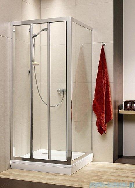 Radaway Treviso DW+S kabina 120x75 szkło fabric 32333-01-06N/32433-01-06N