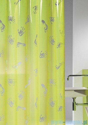 Sealskin Amy żółta zasłona prysznicowa PCV 180x200cm 210701337